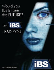 IBS Company Profile 2011 - ibs worldwide