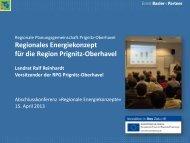 Regionales Energiekonzept Prignitz-Oberhavel