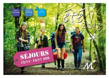 15-17 ans 12-14 ans - Ville de Montreuil