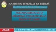 fortalecimiento de la seguridad ciudadana en la región de tumbes