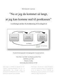 [pdf] Nu er jeg da kommet så langt - Ergoterapeutforeningen
