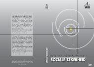 Nummer 4/2005 (.pdf) - FOD Sociale Zekerheid