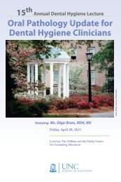 Oral Pathology Update for Dental Hygiene Clinicians