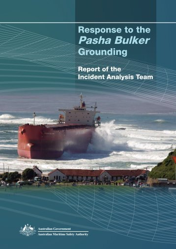 Pasha Bulker Report - Australian Maritime Safety Authority