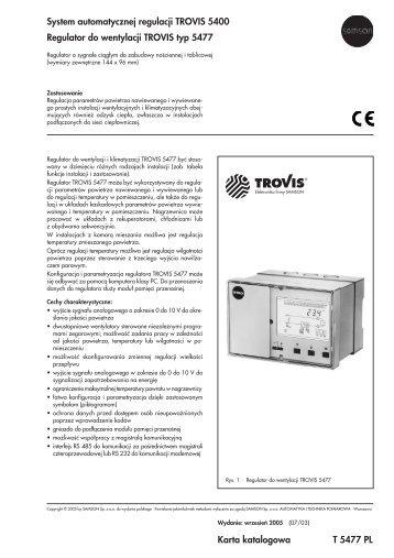 Karta katalogowa T 5477 PL System ... - SAMSON Sp. z oo