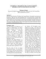"Coleridge's ""The Rime of the Ancient Mariner ... - Gomal University"