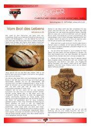 Vom Brot des Lebens - Christlicher Verein Junger Menschen Wien