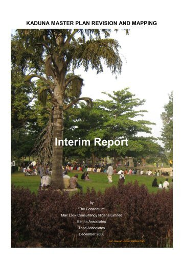 Kaduna Interim Report v MT021208 - University of Westminster