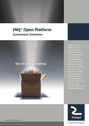 INQ® Open Platform - Integri