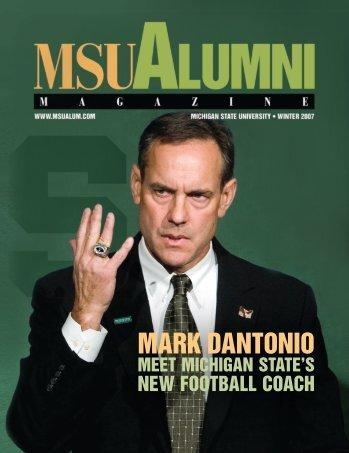 mark dantonio - MSU Alumni Association - Michigan State University