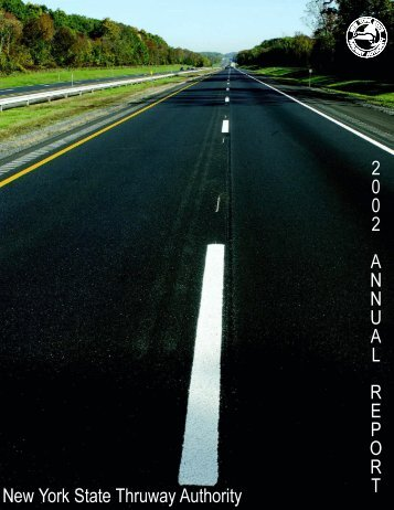 2002 Annual Reports - New York State Thruway