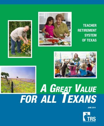 TRS – A Great Value for Texans TRS