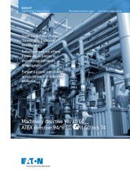 Machinery directive 98/37/EC ATEX directive 94/9 ... - PMCCatalogue