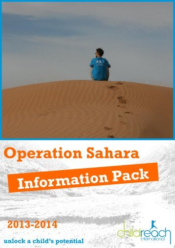 Operation Sahara info pack