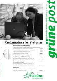 No. 3 / 2011 - Grüne Kanton St. Gallen