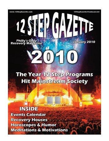 January 2010 - 12 Step Gazette