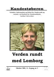 Verden rundt med Lomborg - Institut for Statskundskab - Aarhus ...
