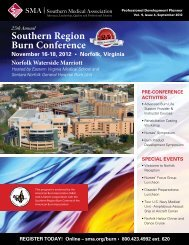 Southern Region Burn Conference - Southern Medical Association