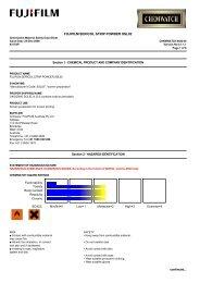 FUJIFILM SERICOL STRIP POWDER SSL02 - FUJIFILM Australia