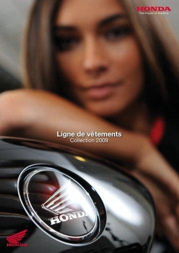 Téléchargement de la collection 2009 Honda (9 Mo) - Motoservices