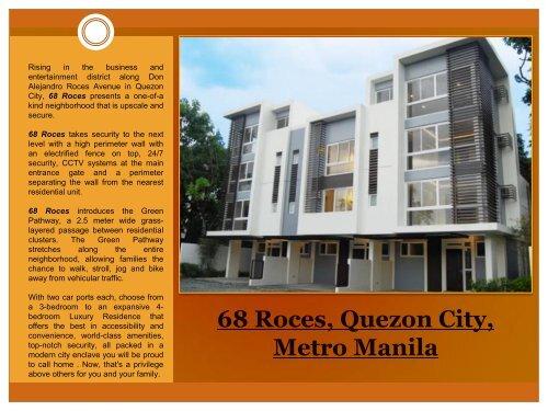 68 Roces, Quezon City, Metro Manila - EYP Business Showcase ...