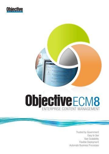 ENTERPRISE CONTENT MANAGEMENT - Objective Corporation