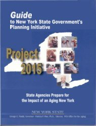 Guide - New York State Office for the Aging