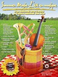 Summer Music at the NAC - L'été en musique au CNA