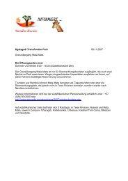 Kgalagadi Transfrontier Park 09.11.2007 Grenzübergang Mata-Mata ...