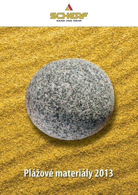Plážové materiály 2013 - Scherf