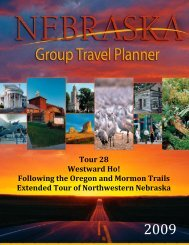 Tour 28: Westward Ho!—Extended Tour - Industry