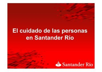 Santander Río - Great Place to Work Institute