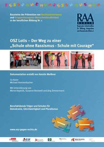 OSZ Lotis – Der Weg zu einer - osz-gegen-rechts.de