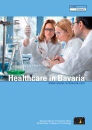 Healthcare in Bavaria - Invest in Bavaria