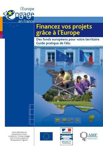 Financez vos projets grâce à l'Europe