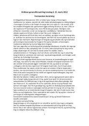 Ordinær generalforsamling torsdag d. 15. marts 2012 Formandens ...