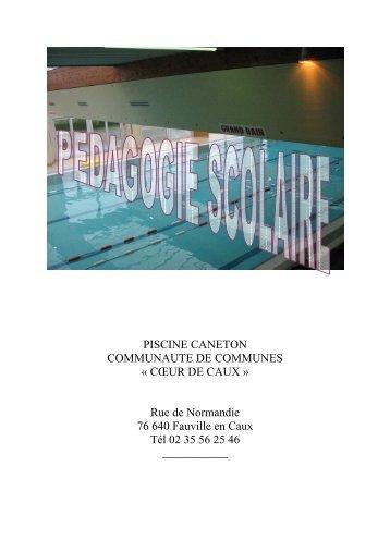 Evolution projet natation st jean c3 2011 for Piscine yvetot