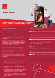 DATA BACKUP & MOBILE SECURITY - Lifestyle Services Group Ltd