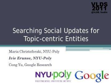 Present - Search Computing Blog