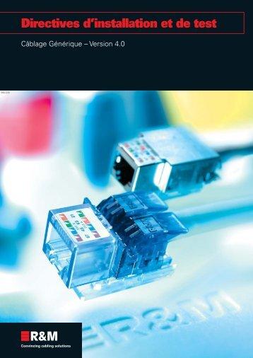 Directives d'installation et de test - Aldevar