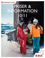 PRISER & InfoRmatIon 10/11 - Hyttespecialisten