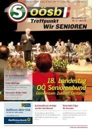 18. Landestag OÖ Seniorenbund