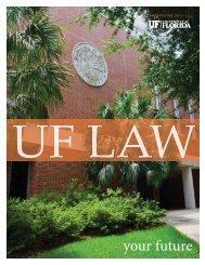 Prospectus - Levin College of Law - University of Florida