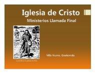 El discípulo y el conocimiento.pdf - IGLESIA DE CRISTO ...
