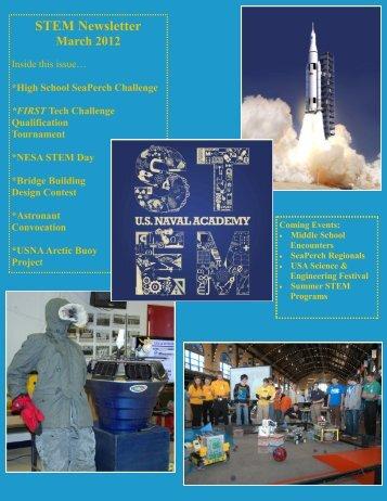 STEM Newsletter - United States Naval Academy