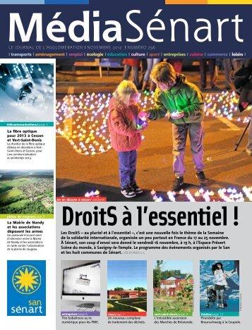 Media Senart 296 novembre 2012 - San de Sénart