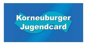 Folder - Jugendcard (1,12 MB) - Korneuburg