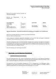 Omzendbrief betreffende de aanwijzing van de bijzitters voor de ...