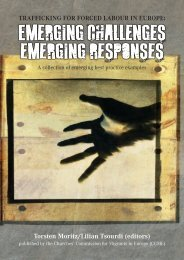 Trafficking for Forced Labour in Europe: Emerging Challenges - CCME