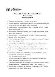 Maggio-giugno 2013.pdf - Fondazione Museo Storico del Trentino